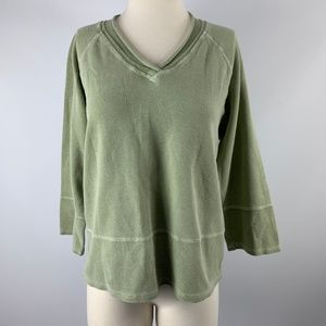 Hot Cotton Marc Ware Medium Blouse Long Sleeve